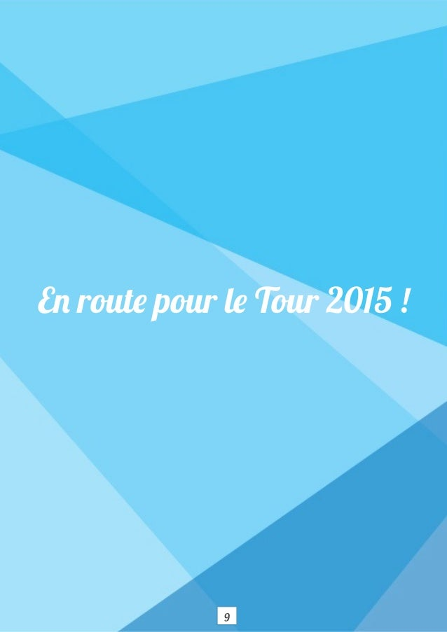Roadbook Tour Ticket For Change 2015