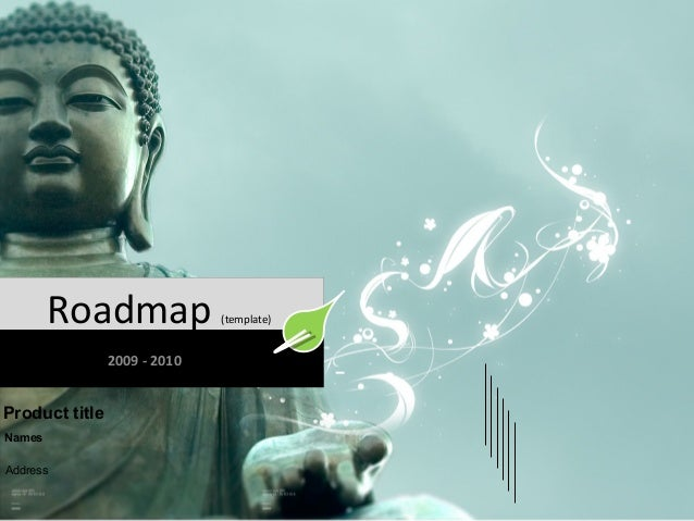 Roadmap 2009 - 2010  Product title Names Address  (template)