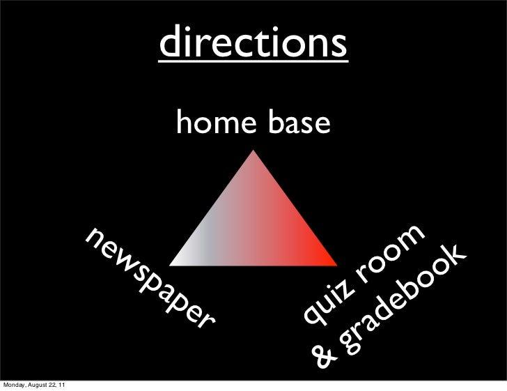 directions                              home base                        ne                     m k                       ...