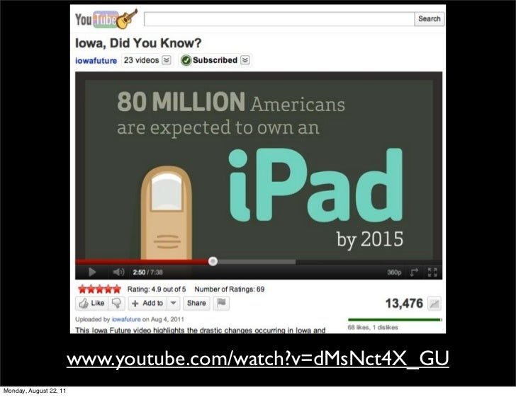 www.youtube.com/watch?v=dMsNct4X_GUMonday, August 22, 11