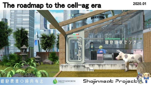 The roadmap to the cell-ag era