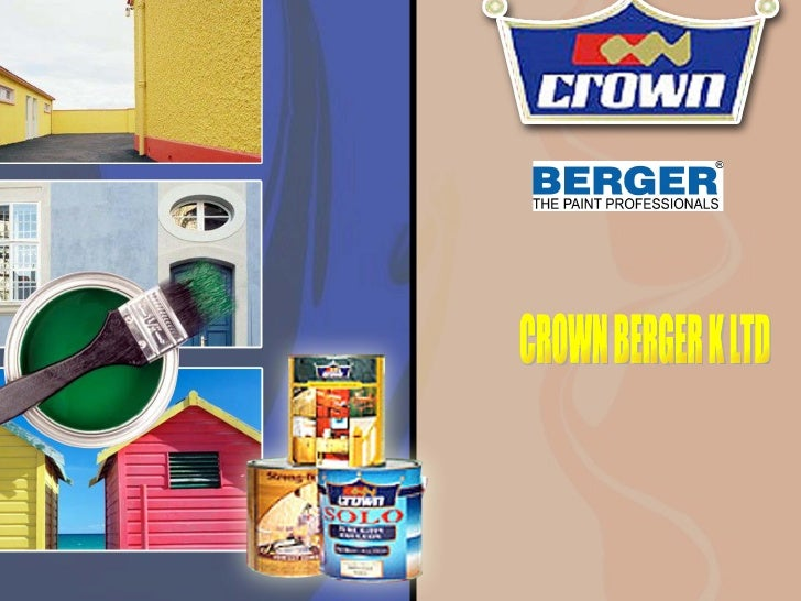 CROWN BERGER K LTD