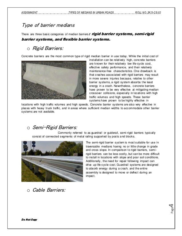 Image Result For What Do Median Barriers Do