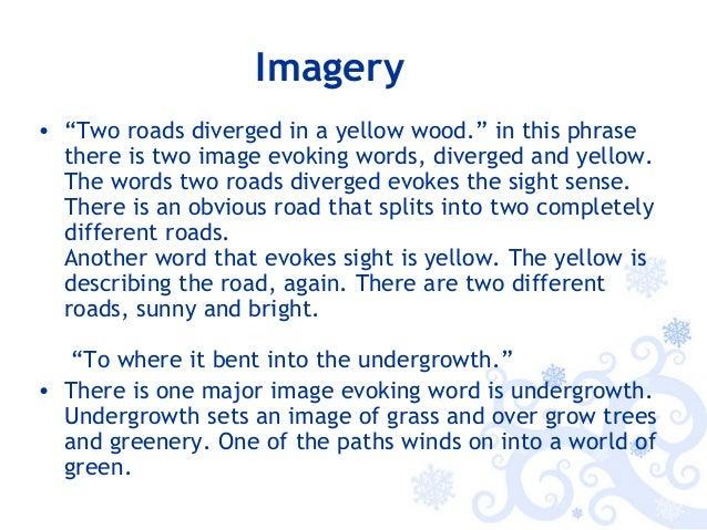 the road not taken analysis pdf