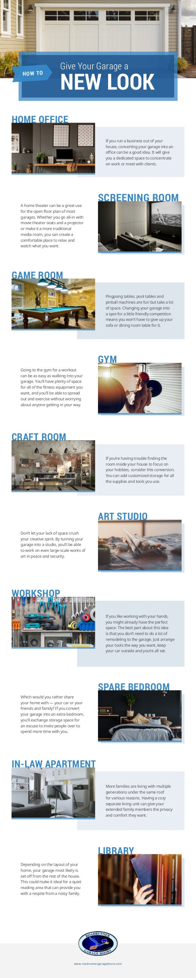 SCREENING ROOM GYM SPARE BEDROOM ART STUDIO LIBRARY HOME OFFICE GAME ROOM WORKSHOP CRAFT ROOM IN-LAW APARTMENT If you run ...