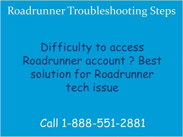 Roadrunner Troubleshooting Steps | Technical Support