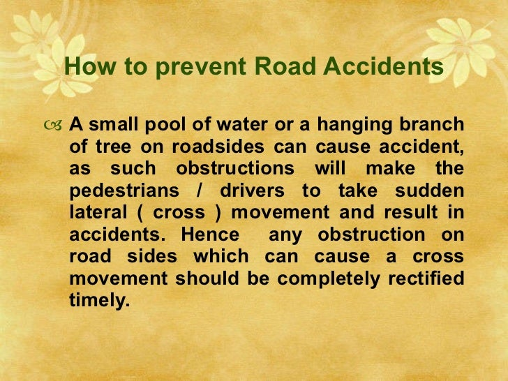 increasing road accidents essay in malayalam