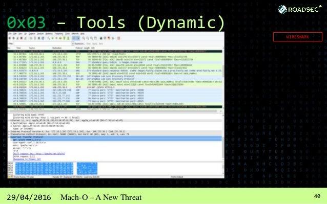 4129/04/2016 Mach-O – A New Threat 0x03 – Tools (Dynamic) LSOCK