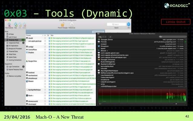 4329/04/2016 Mach-O – A New Threat 0x04 – Current Threats .OSA --> ZIP:  PremierOpinion  upgrade.xml Mac.BackDoor.Opinio...