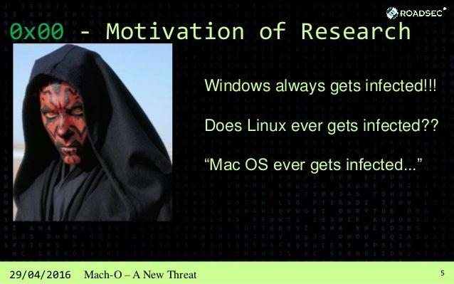 629/04/2016 Mach-O – A New Threat 0x01 - OS X, The New Target Source: www.virustotal.com