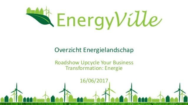 Overzicht Energielandschap Roadshow Upcycle Your Business Transformation: Energie 16/06/2017