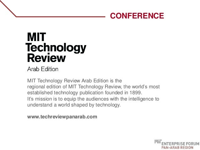 WHO ARE WE? MIT Technology Review Arab Edition is the regional edition of MIT Technology Review, the world's most establis...