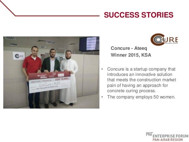 Concure - Ateeq Winner 2015, KSA • Concure is a startup company that introduces an innovative solution that meets the cons...