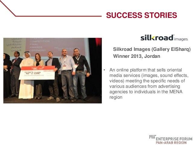 Silkroad Images (Gallery ElSharq) Winner 2013, Jordan • An online platform that sells oriental media services (images, sou...