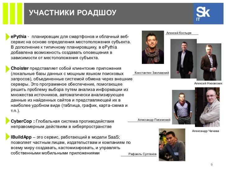 УЧАСТНИКИ РОАДШОУ                                                                            Алексей КостыряePythia - план...