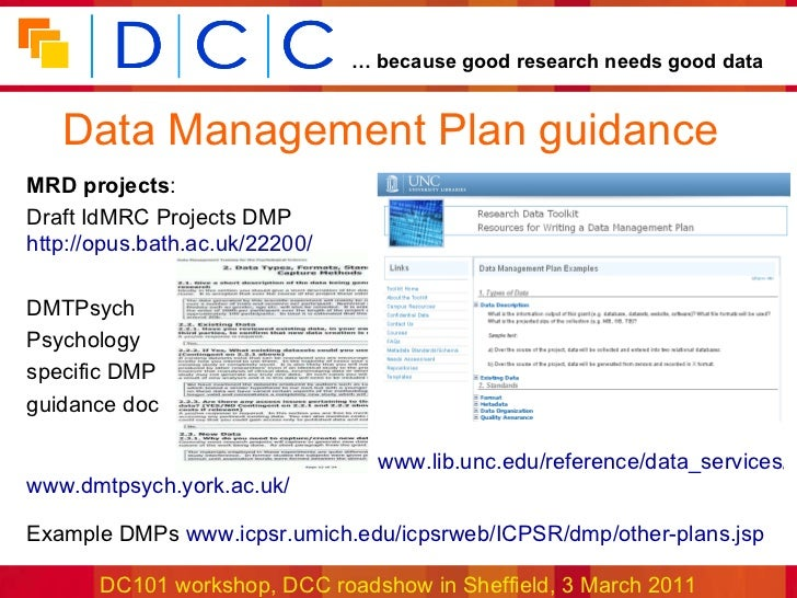 data management strategy example Data management policies