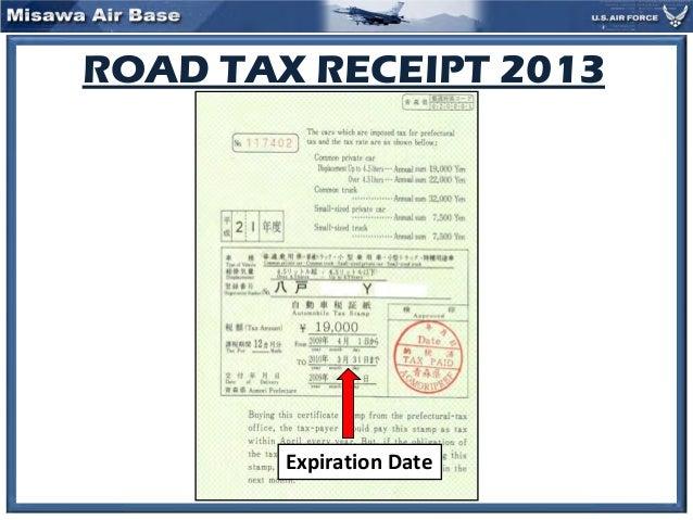 road tax 2014 cac slides