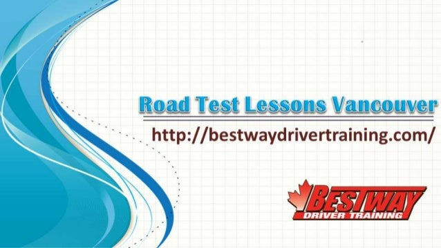 Road Test Lessons Vancouver