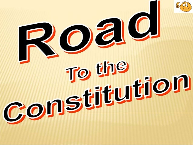 FAILURE OF ARTICLES OF CONFEDERATION State governments too powerful: –Power to tax: –Power to regulate trade: –Power to di...