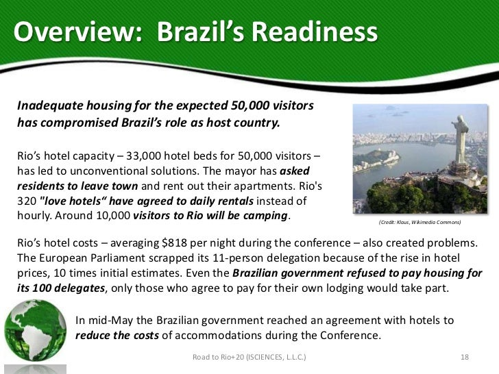 Overview: Brazil's ReadinessInadequate housing for the expected 50,000 visitorshas compromised Brazil's role as host count...