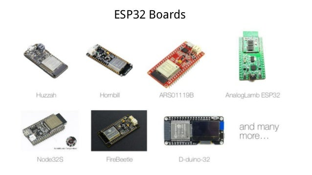 Introduction to ESP32 Programming [Road to RIoT 2017]