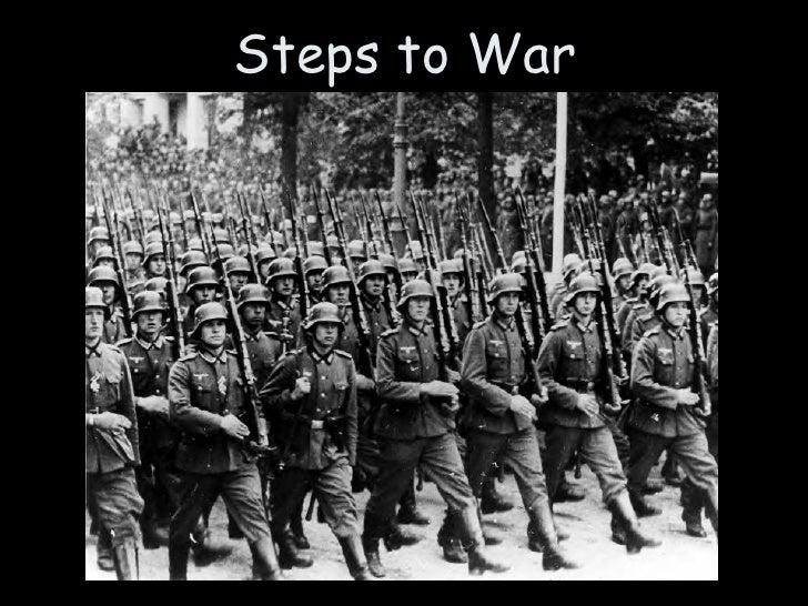 17. Steps to War ...