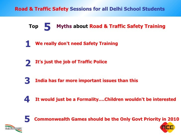 The Highway Code, road safety and vehicle rules