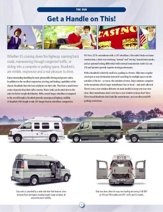 Roadtrek 2013 brochure