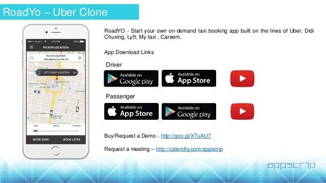RoadYo - Uber Clone