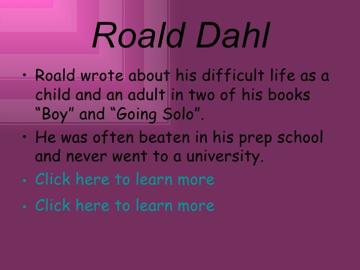 roald dahl boy and going solo pdf