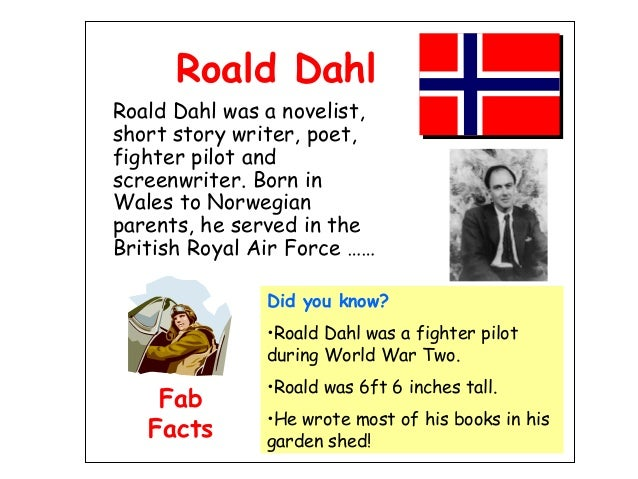 Where did roald dahl write