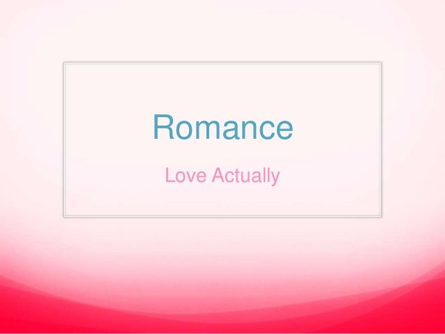 An analysis and definition of romantic love