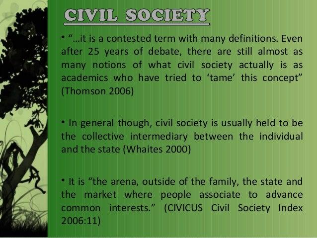 concept of civil society pdf