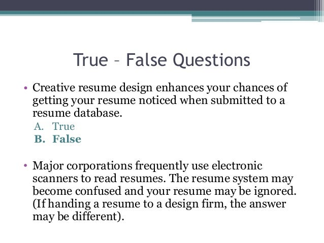 Writing A Results Oriented And Relevant Resume For College Students