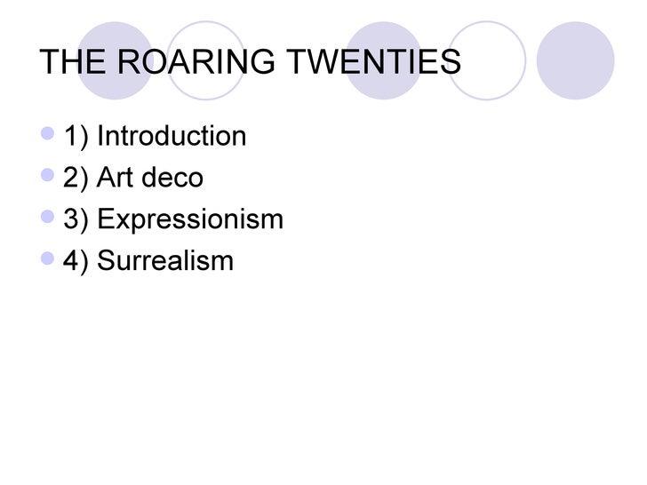 The Roaring 'Twenties