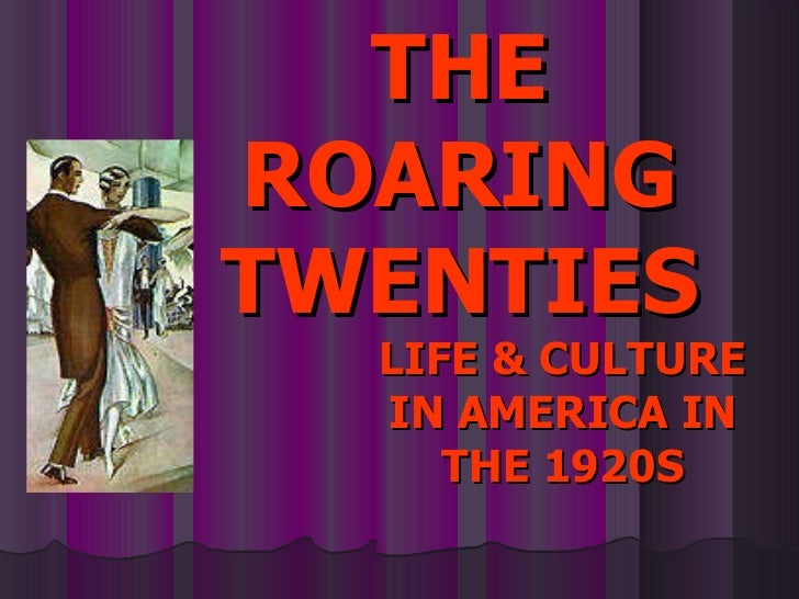 the roaring twenties in america The roaring twenties: history and facts, events important to america and the  roaring 20s including the key people, places, documents history of prohibition .
