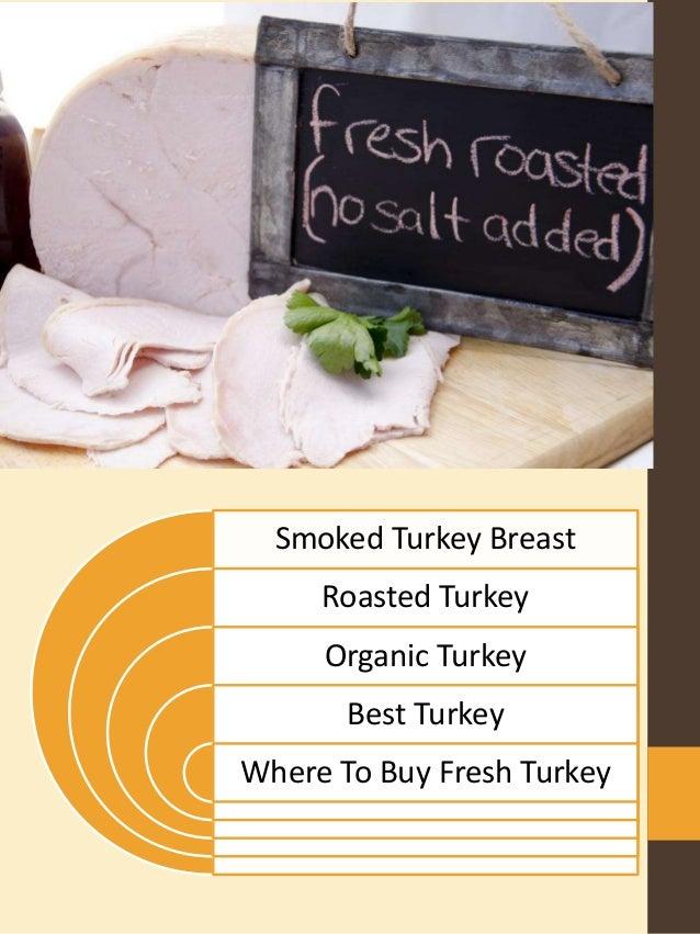 organic turkey Slide 2