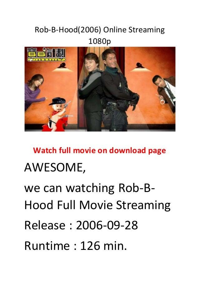 rob b hood full movie download