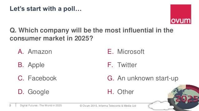 The consumer in 2025 - Digital Futures 2025 Slide 2