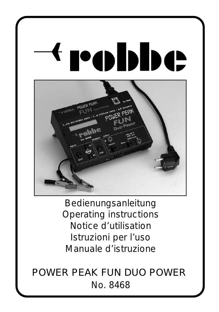Bedienungsanleitung     Operating instructions      Notice d'utilisation      Istruzioni per l'uso     Manuale d'istruzion...