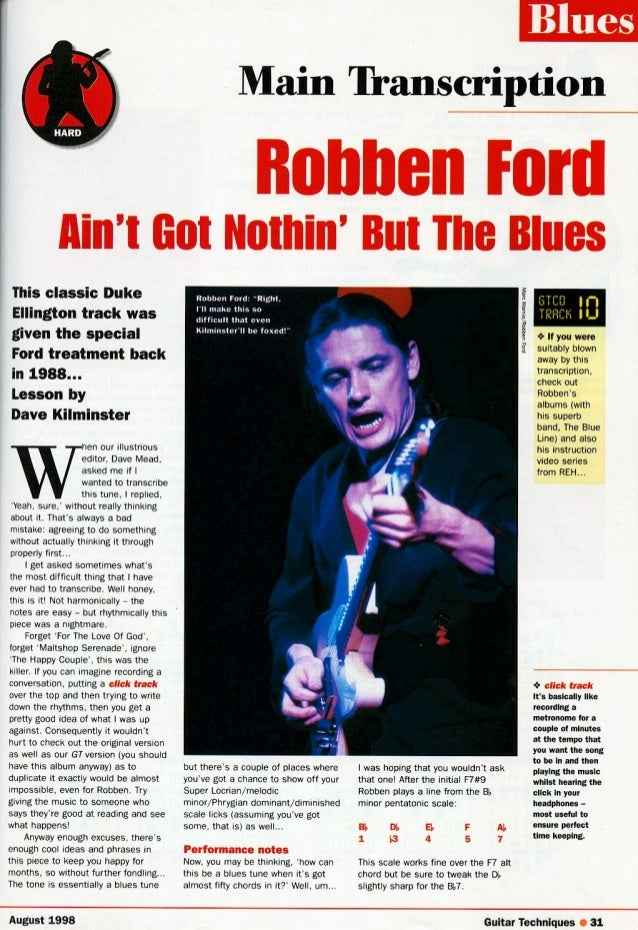 Robben ford   ain´t nothing but the blues