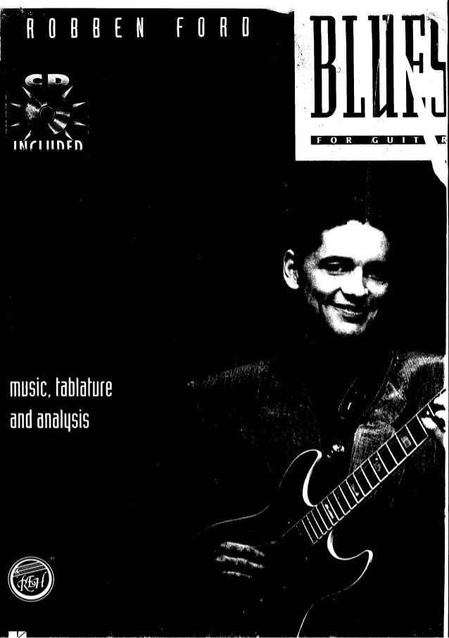 Robben ford   blues for guitar