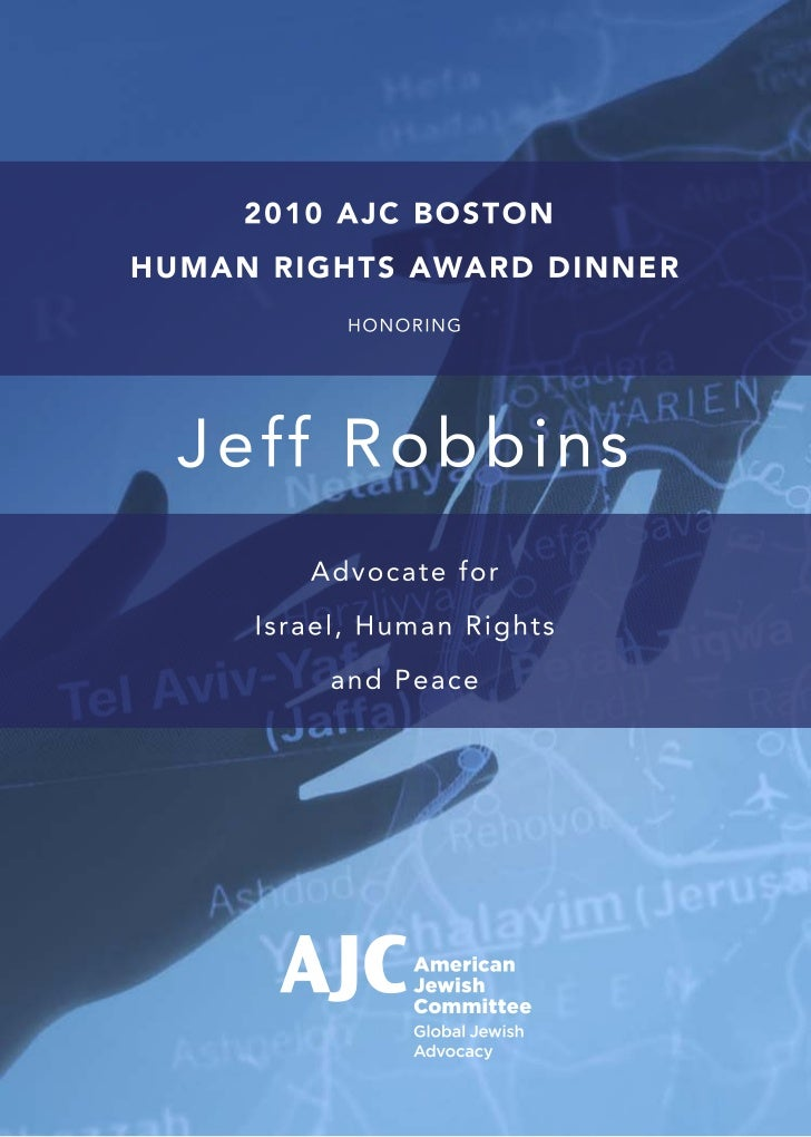 AJC Program cover