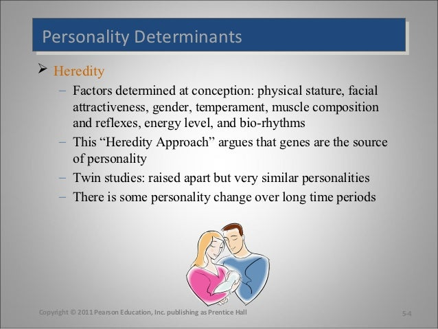 heredity and personality
