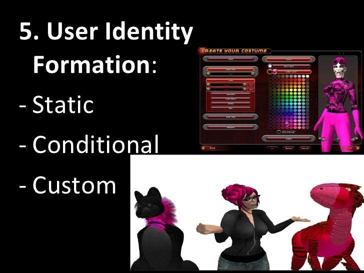 <ul><li>5. User Identity Formation : </li></ul><ul><li>Static </li></ul><ul><li>Conditional </li></ul><ul><li>Custom </li>...