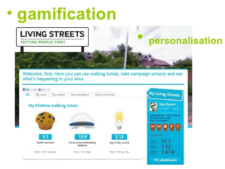 • gamification                 • personalisation