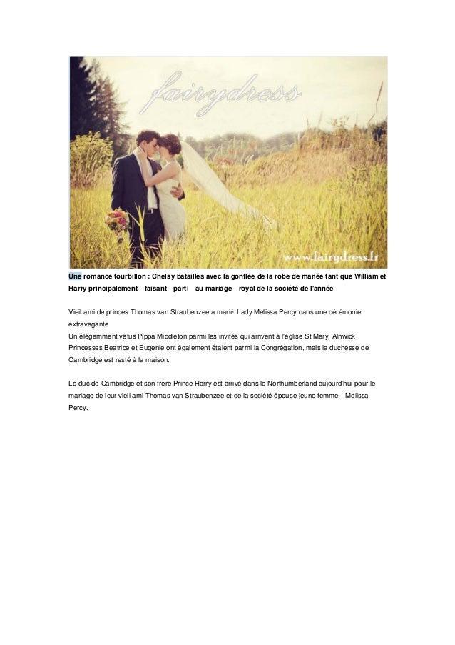 Une romance tourbillon : Chelsy batailles avec la gonflée de la robe de mariée tant que William et Harry principalement fa...