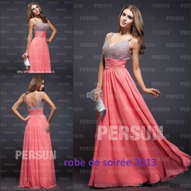 robe de soirée 2013