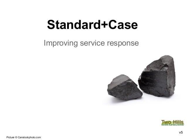 Standard+CaseImproving service responsev5Picture © Canstockphoto.com