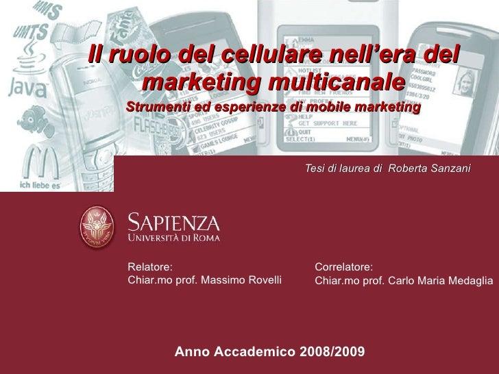 Dissertation on mobile marketing